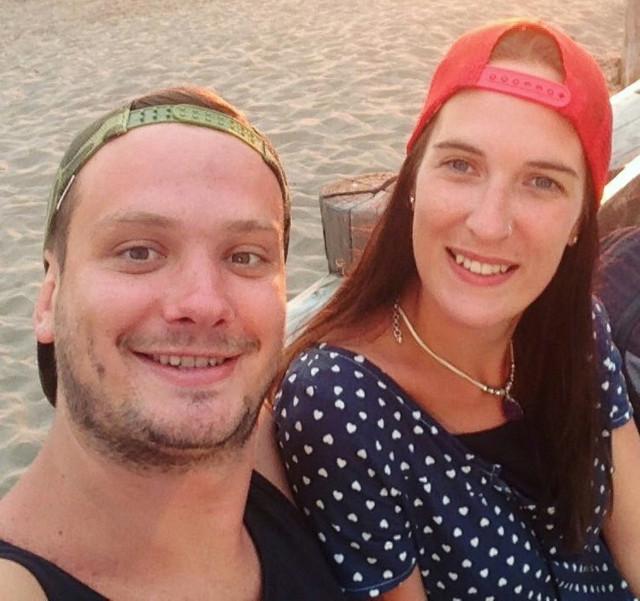 Schneider Gabriel  y Ayelén Wendler